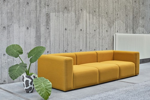 12. Must have Bright sofa enlightens your room always