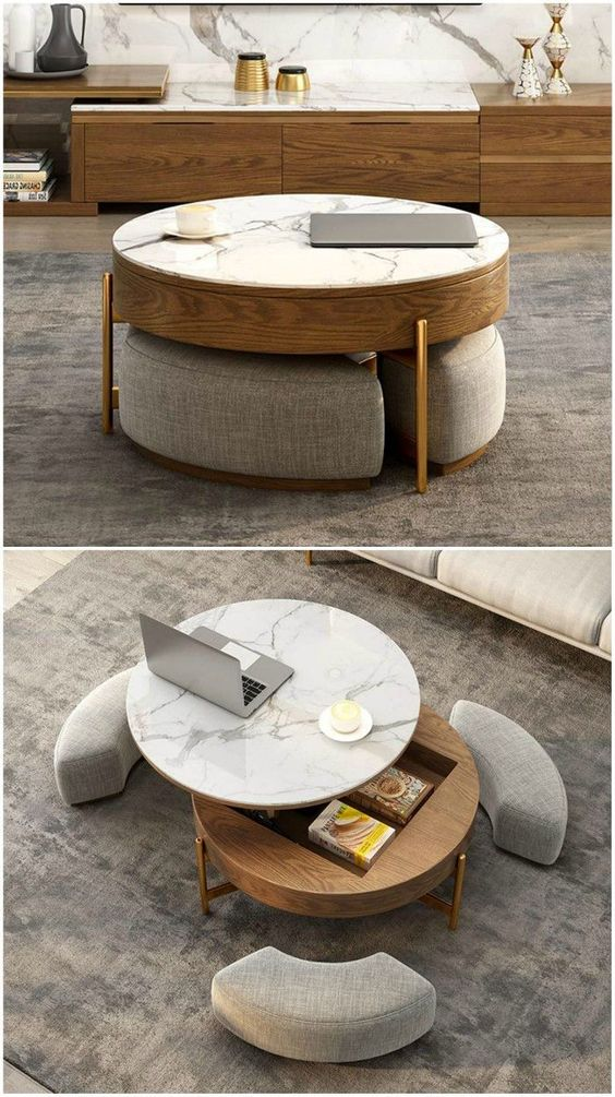 28. Beautify Your Living Rooms With Modern Centre Tables