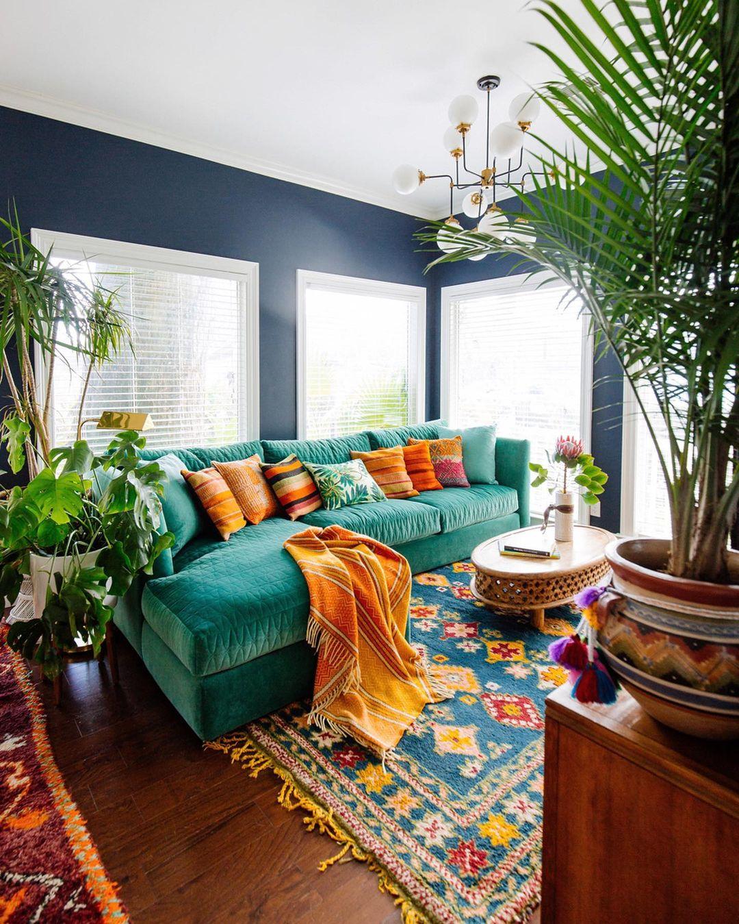 Vivid L Shape Sofa Ideas for Living Room
