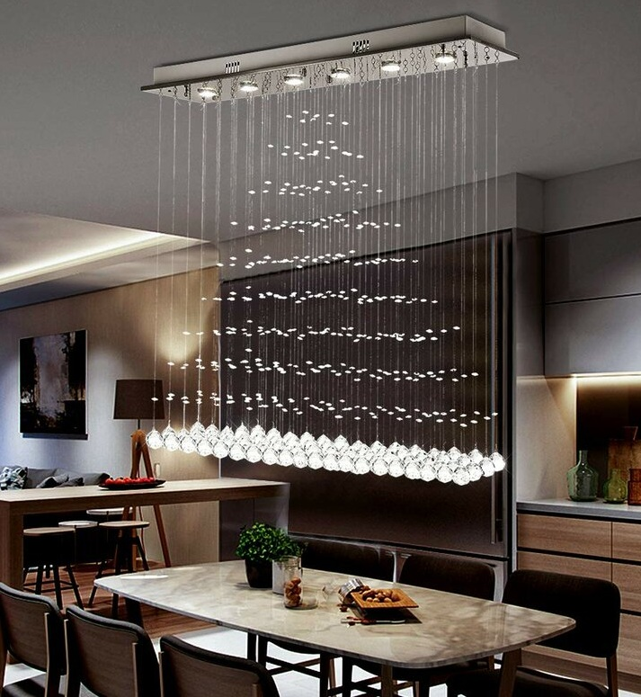 Beautiful Geometric Chandeliers for Dining Room