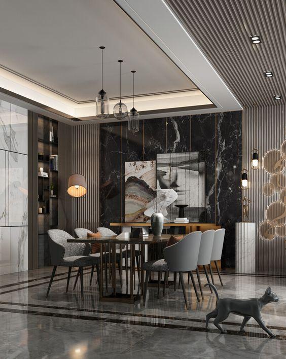 Dining Room Ideas for Lavish Living Room