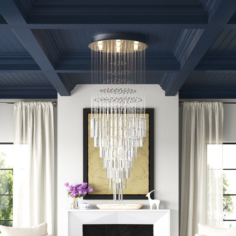 Eye Appealing Empire Chandelier for Lavish Living Rooms