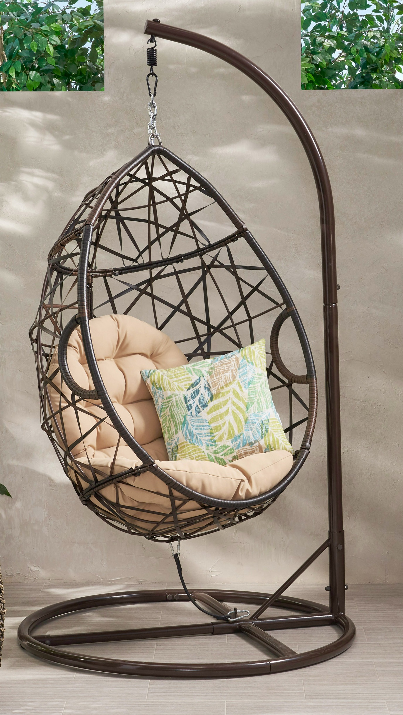 Amazing Egg Swing With Stand and Cushions