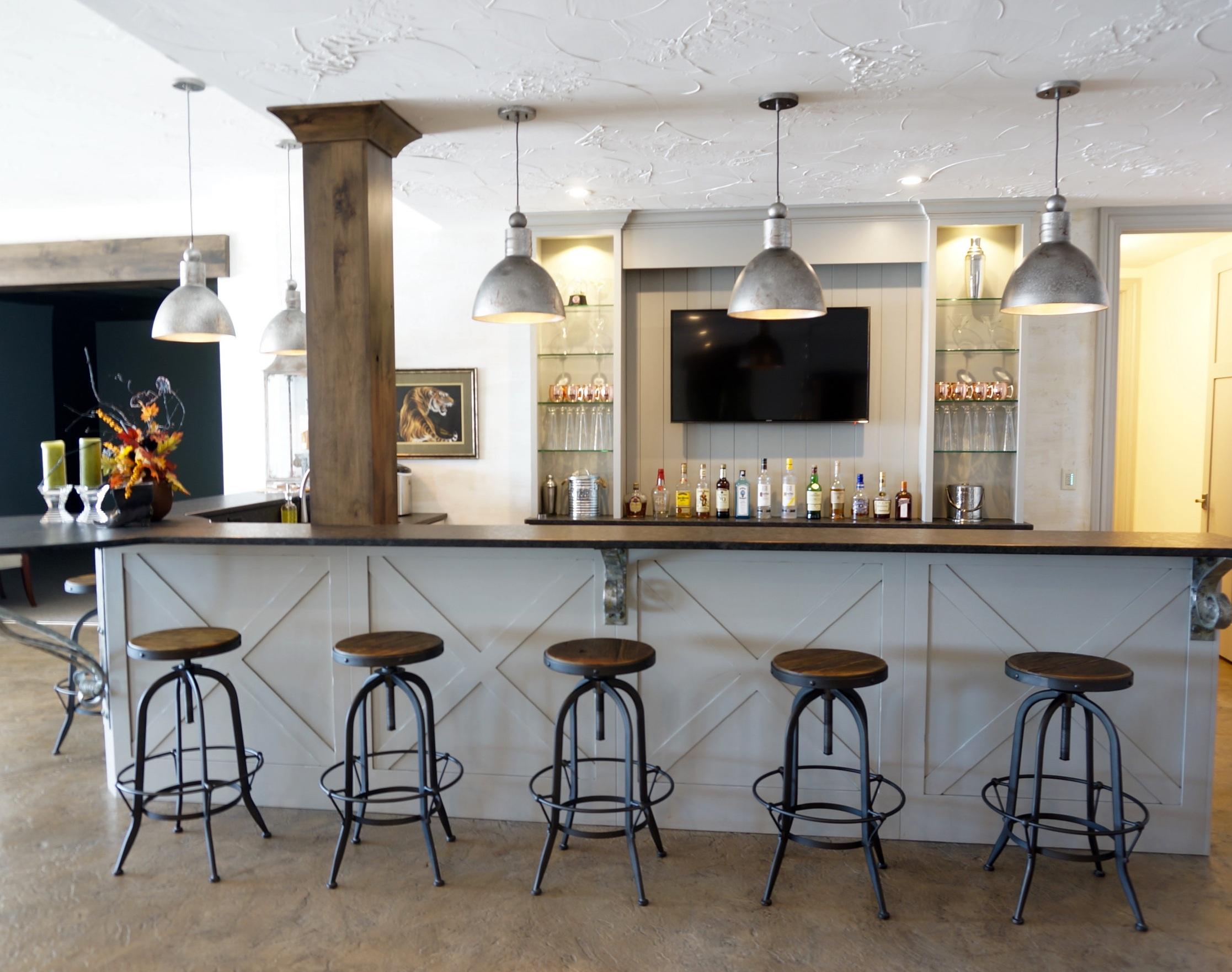 Bar Stool and Table for Bar Home Decor Ideas