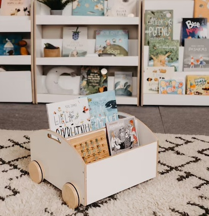 Cute Book Storage Ideas For You