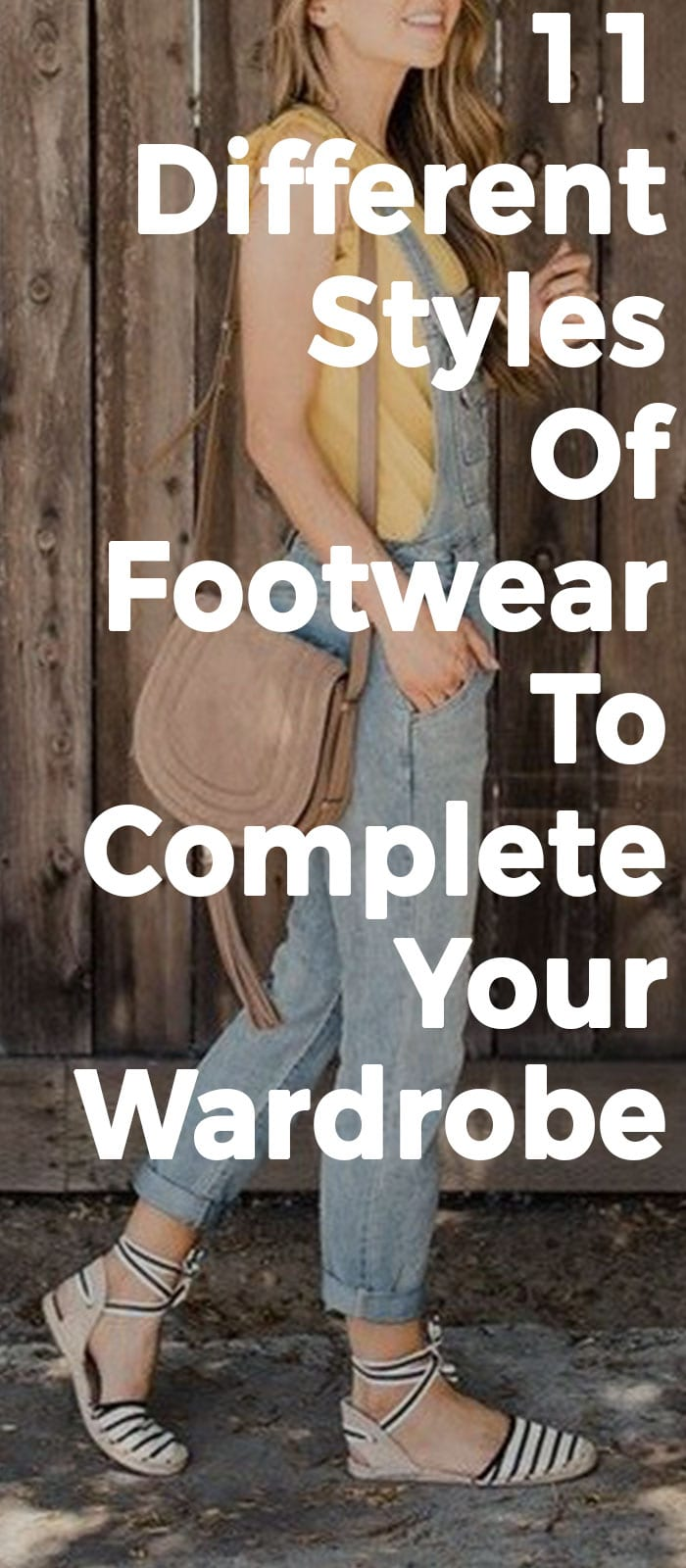 11 Different Styles Of Footwear To Complete Your Closet
