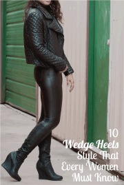 10 Wedge Heels Style That Every Women Must Know