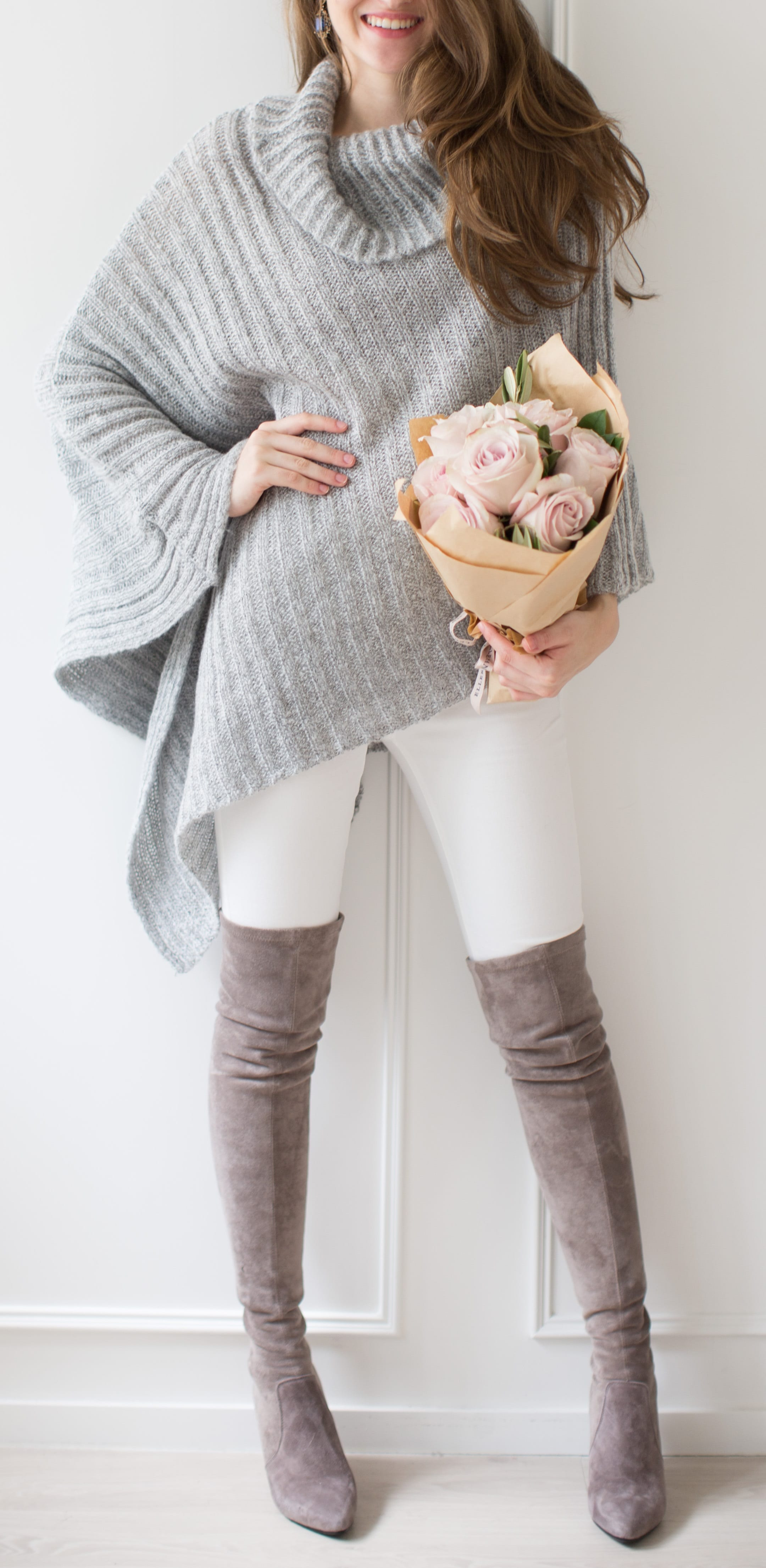 style Over The Knee Boots with capes