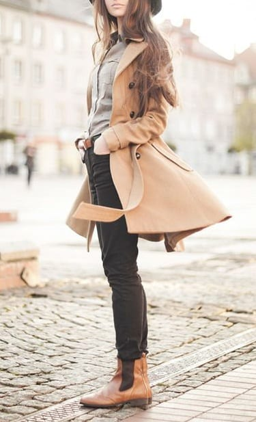 style chelsea boots with denim