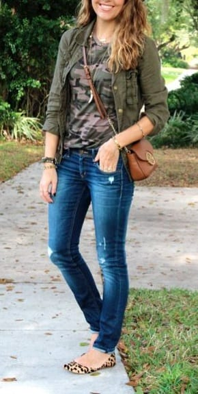 style d'orsay shoes with casual outfits