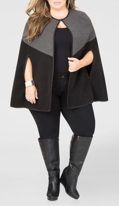 style wedge boots with capes
