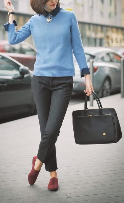 style your footwear with formals