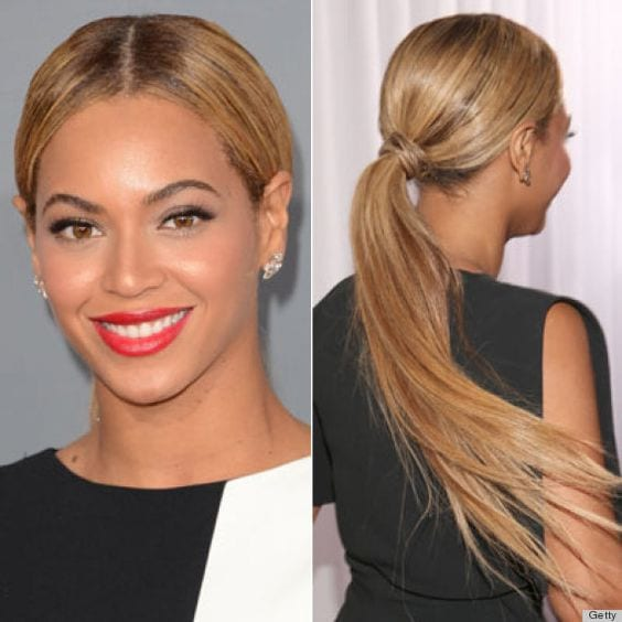 10 Steps To Get Easy And Stylish Middle Part Ponytail In Few Minutes