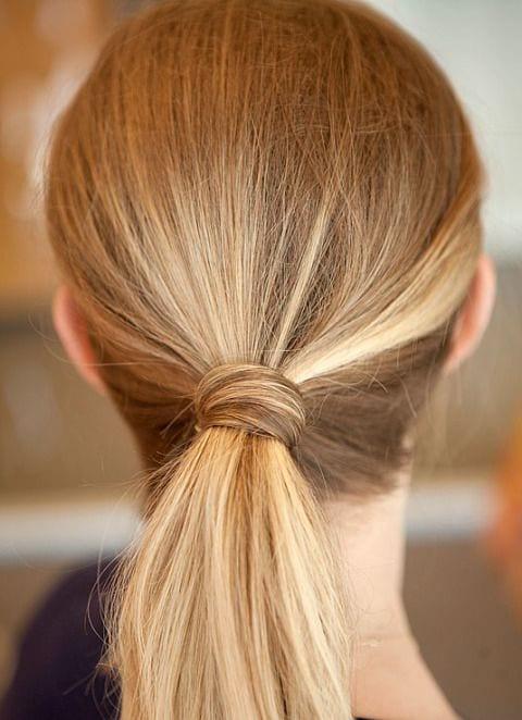ponytail long