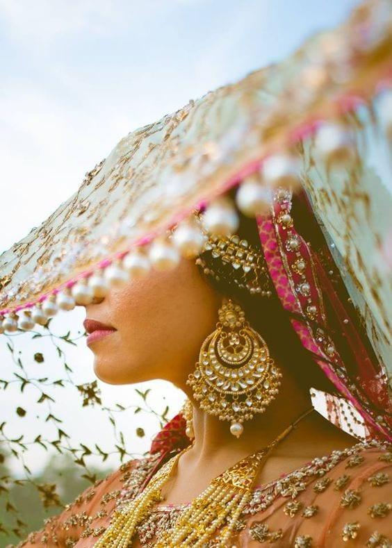 Earring for haldi