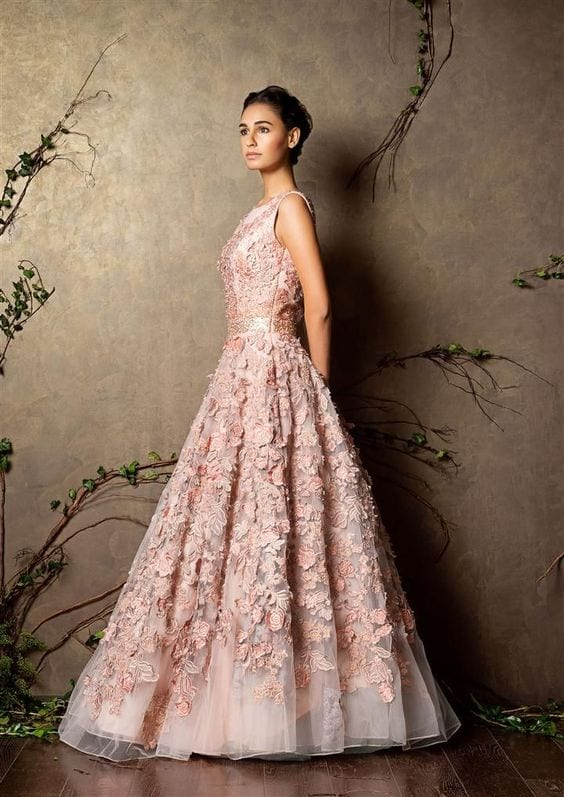 Gowns for wedding ceremony