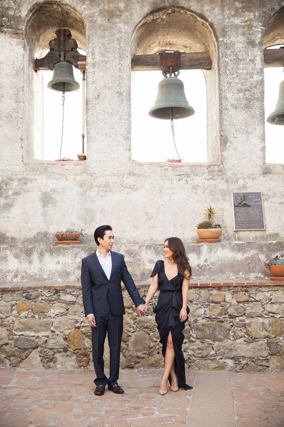 Maxi dress for pre wedding photo shoot