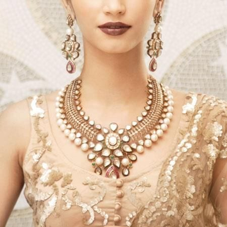 Necklace for haldi