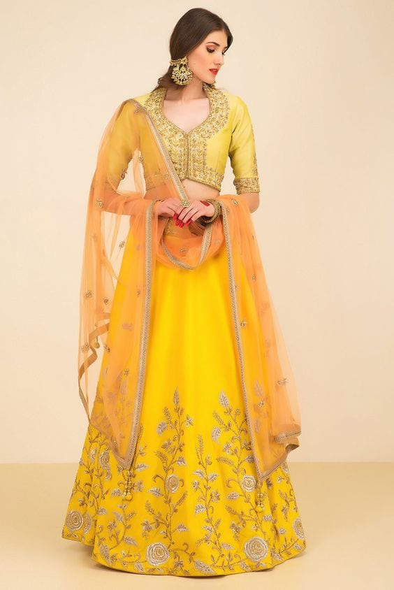 Outfit for Haldi