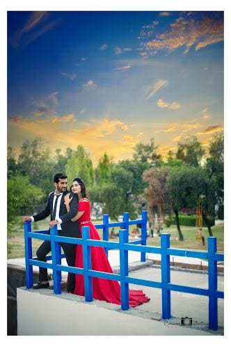 Pre wedding Photo Shoot in gown