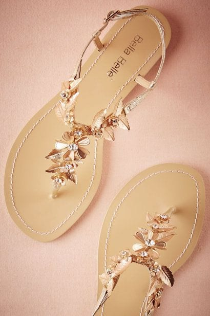 Sandal for sangeet