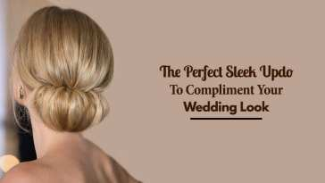 The Perfect Sleek Updo To Compliment Your Wedding Look