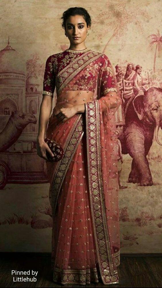 Wedding Ceremony in sarees