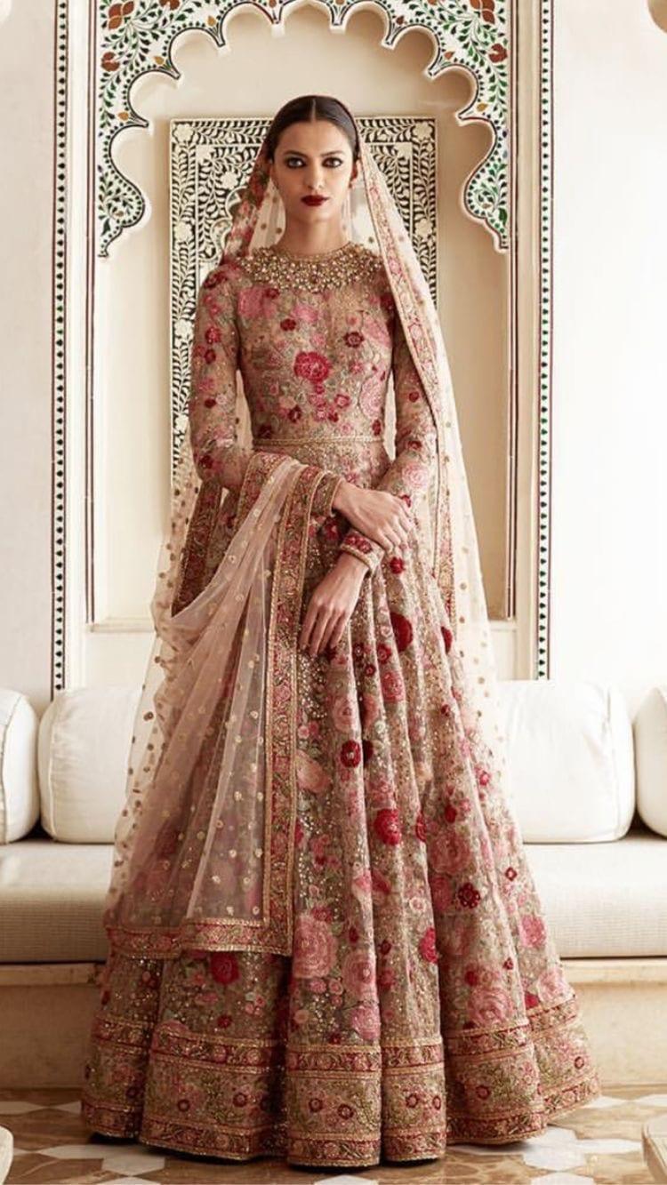 bridal anarkali dress