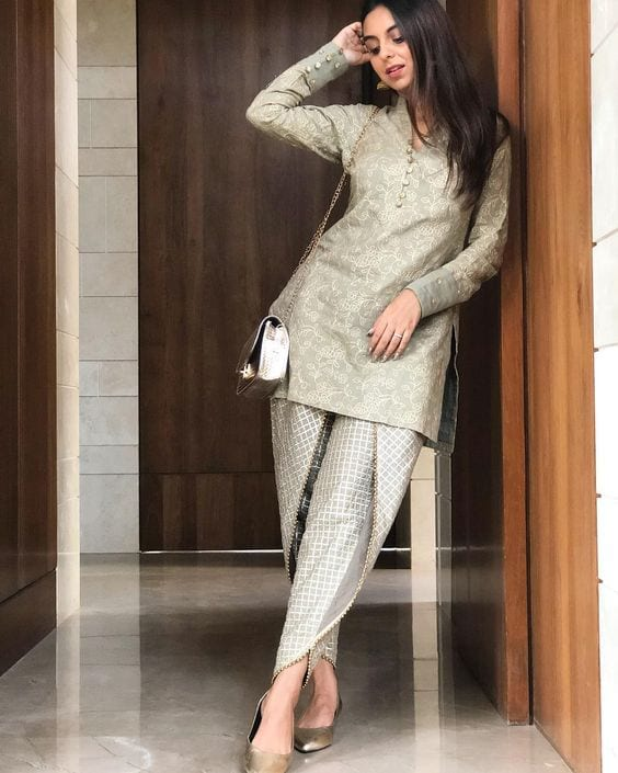 dhoti pants for engagement