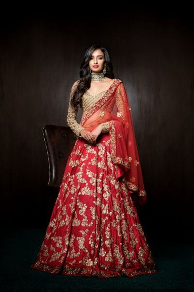 latest bridal saree lehenga collection