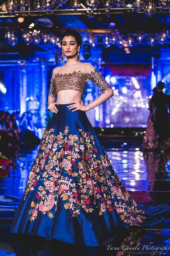 lehenha choli manish malhotra designs