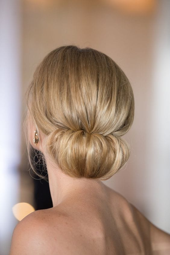 4 Sexy Smart Ways To Style Your Low Chignon Hairstyle