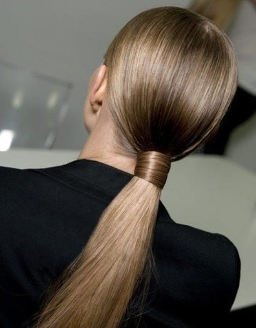 polished ponytail