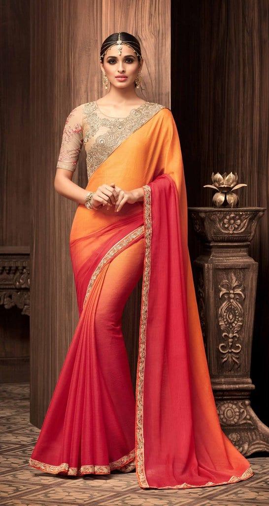 saree for Sangeet