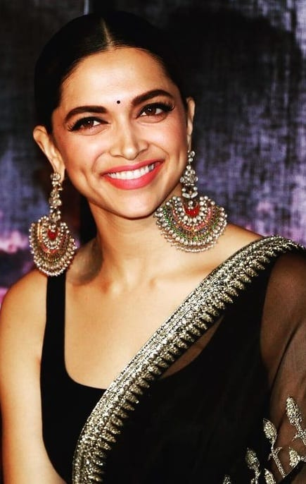 deepika padukone earrings - Theunstitchd Women's Fashion Blog