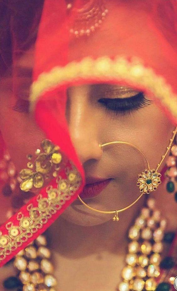 floral nose ring