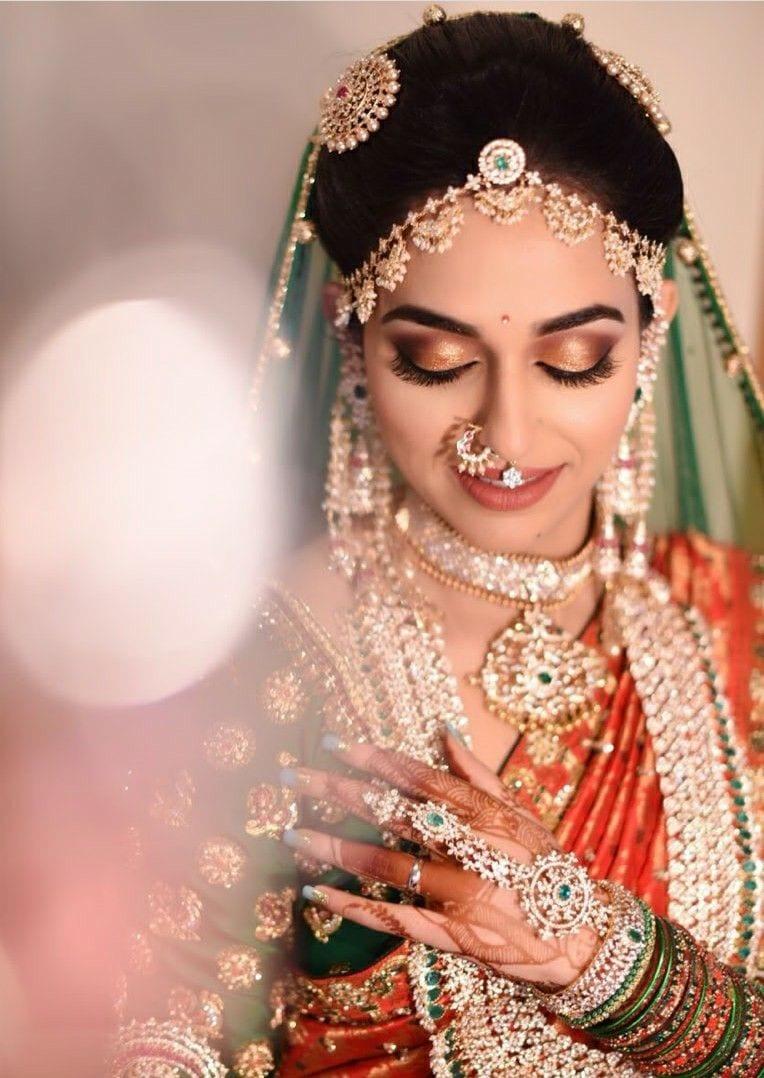 golden nose ring for wedding
