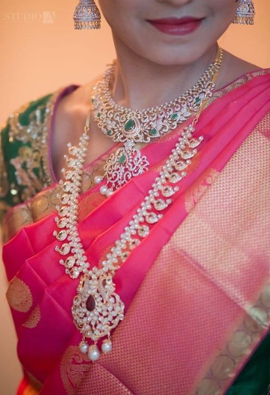 mango haram diamond necklace