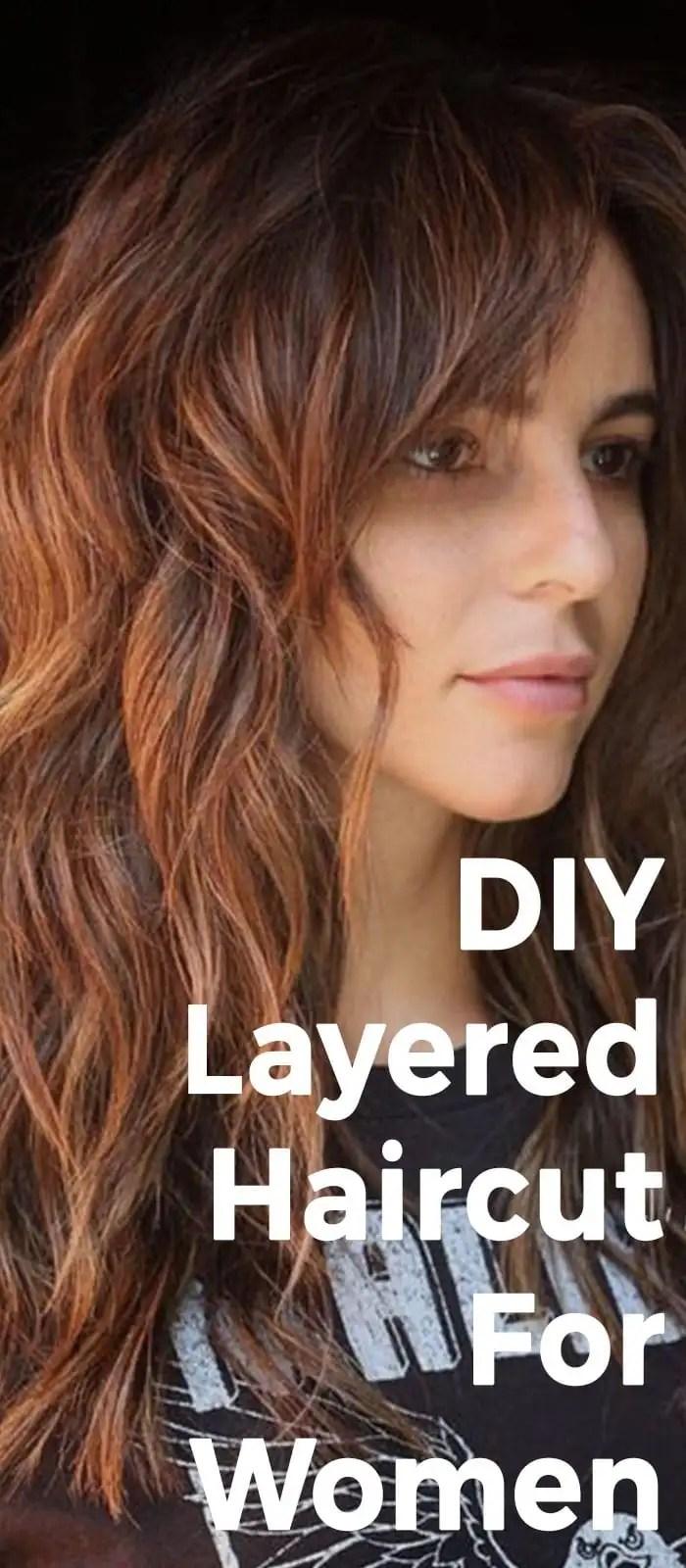 40 Diy Haircut With Layers
