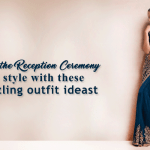 Enter the reception ceremony in style with these dazzling outfit ideas