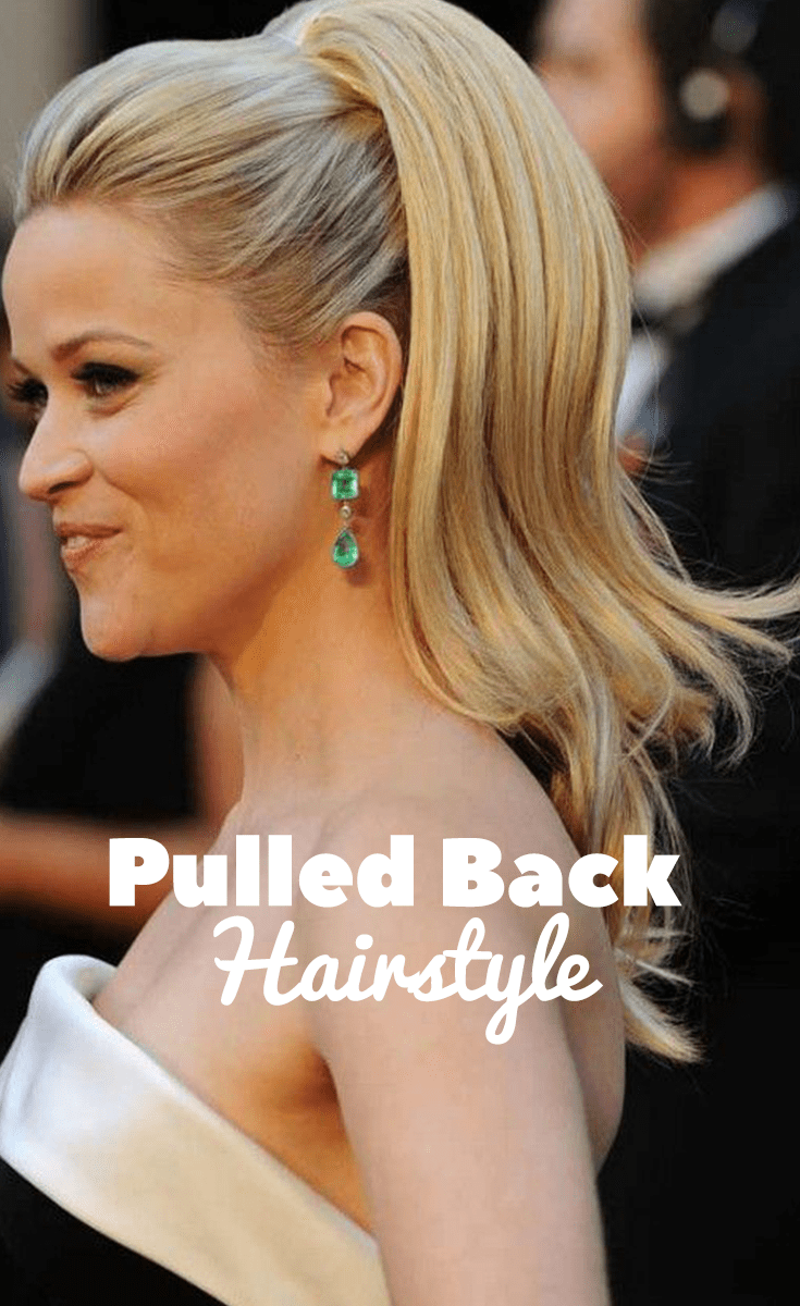 Pulled Back Hairstyle