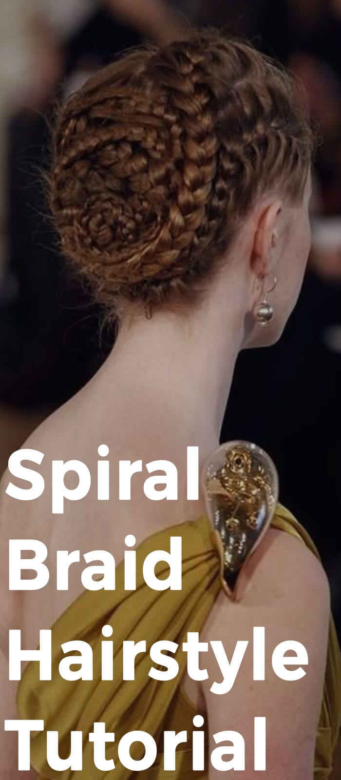 Spiral Braid Hairstyle Tutorial