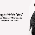 10 Snazziest Plain Scarf For Your Winter Wardrobe To Complete The Look