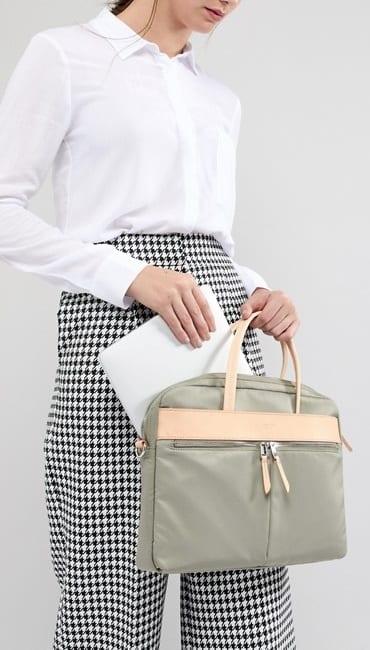 GREEN LAPTOP BAG