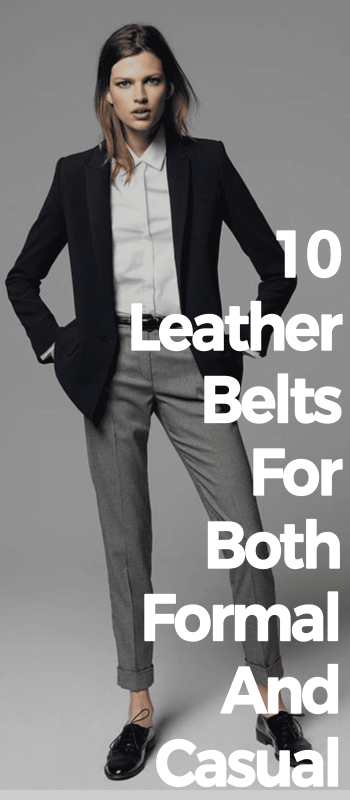 10 Leather Belts For Both Formal And Casual!