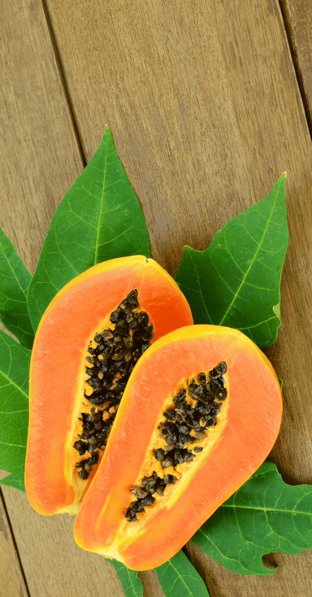 Ripe Papaya Paste For Sun Tan Removal