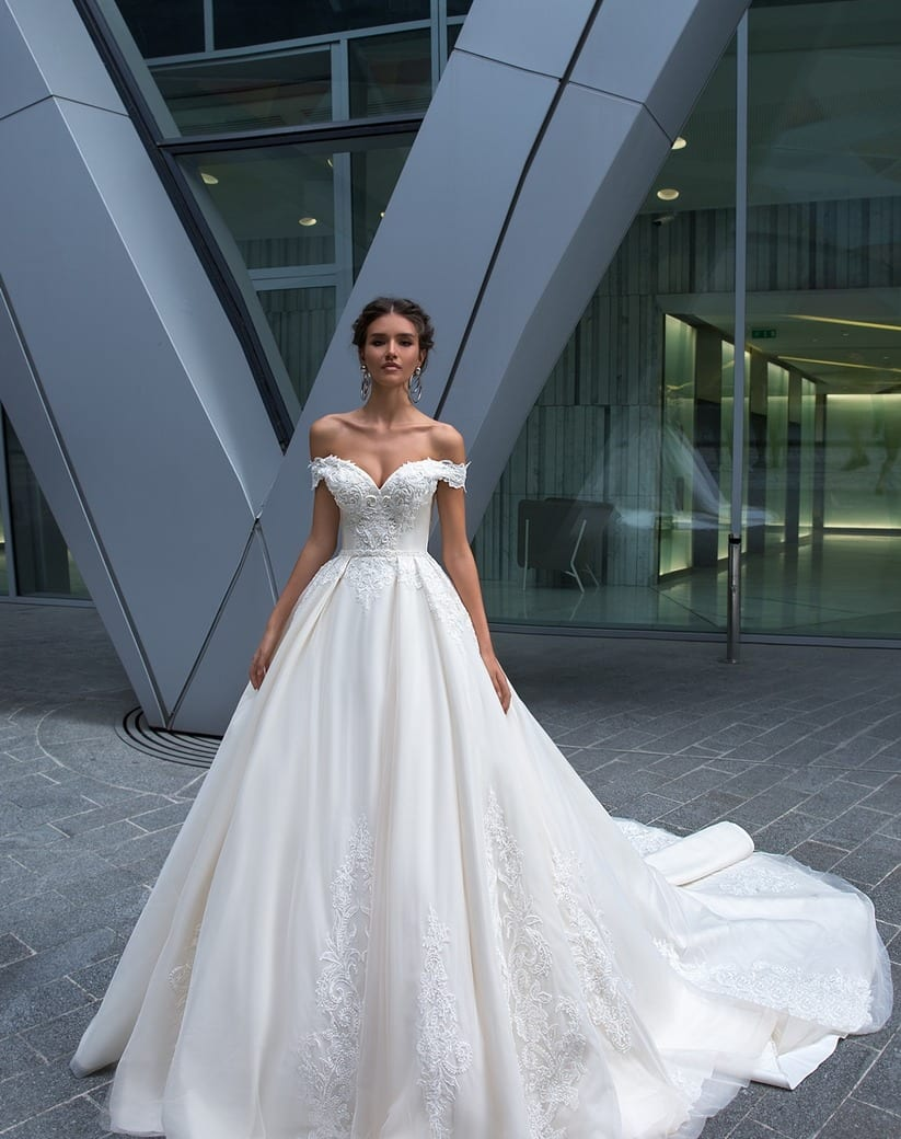 Cool Bridal Gown.