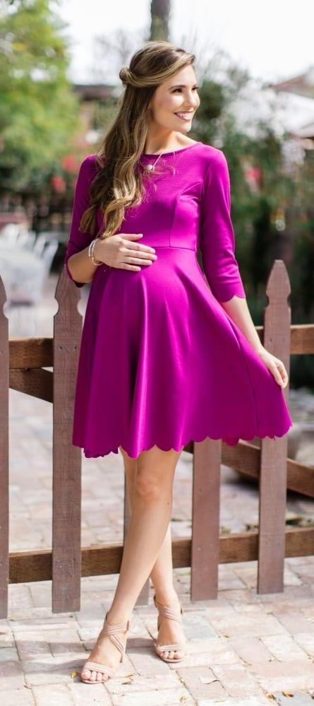 Magenta-Pink-Dress