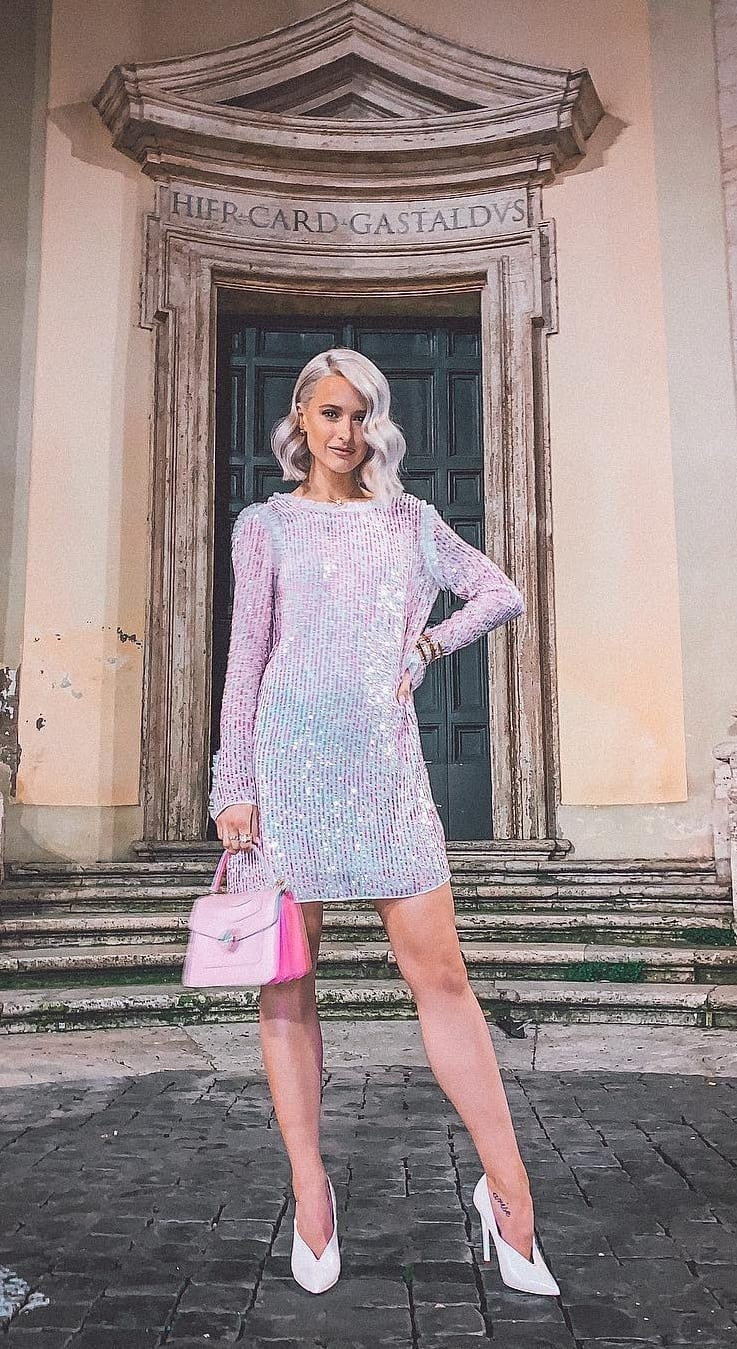 Sparkling-Sliver-Sequence-Dress-Outfit