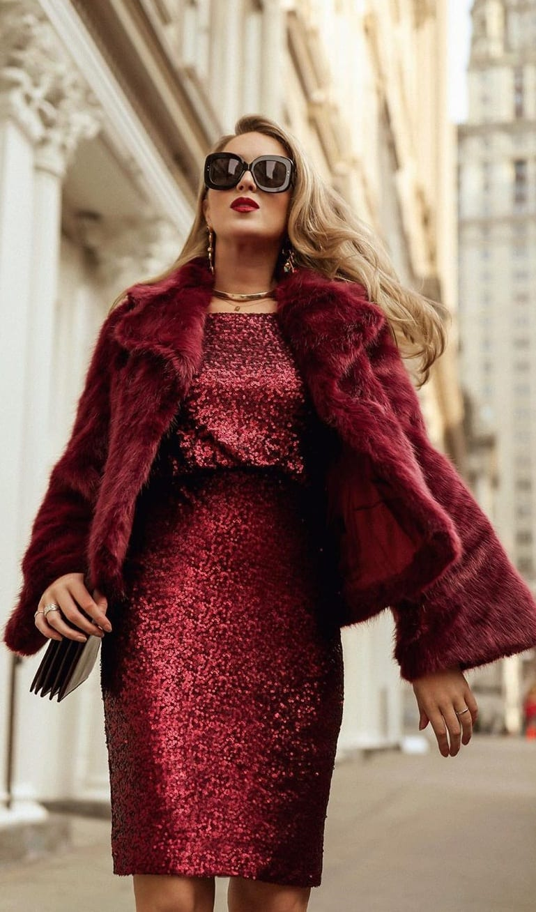 Gorgeous Red Dress for New Year's Eve
